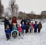 Зимние забавы в дошкольных учреждениях образования