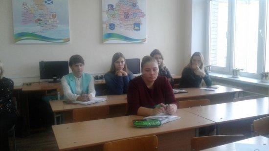 Заседание районного методического объединения учителей иностранного языка