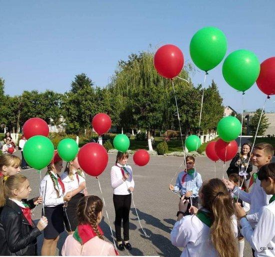 30-летие пионерской организации Беларуси